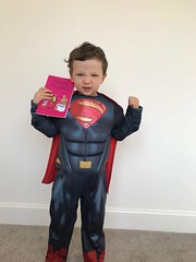 Mon, 09/24/2018 - 17:15 - Anthony 'Superman' Pumpalot for the pose album. Anthony has now posed with both #PrincessPumpalot books which is a very (very) good effort indeed. Please keep sending in the photos! #Fart2018