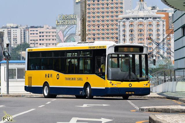 Transmac (Macau) Dennis Dart 10m (MCV/Soon Chow Bodywork)