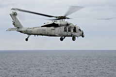 File photo of an MH-60S Sea Hawk assigned to Helicopter Sea Combat Squadron (HSC) 25 (U.S. Navy/MC1 Daniel Barker)