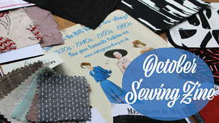 October Sewing Zine Vlog   by English Girl at Home