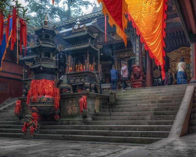 Shangqing Palace, Qing Cheng Mountain
