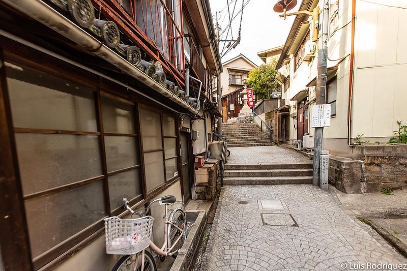 Callejones de Onomichi