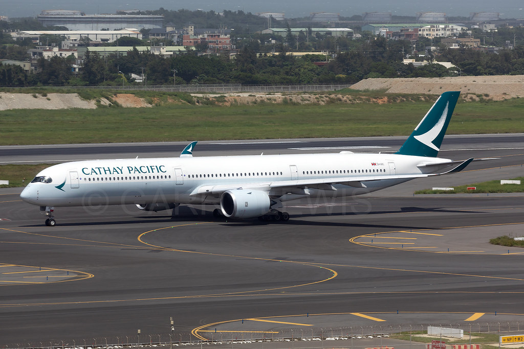 Cathay Pacific Airbus A350-1000 B-LXC | One of only a handfu… | Flickr