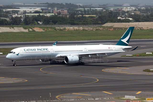 Cathay Pacific Airbus A350-1000 B-LXC [TPE]