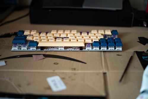 Poor Band Aid Mod, Keyboard Build.