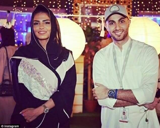 4689 Princess Ameera Al-Taweel married another billionaire Khalifa bin Butti 02