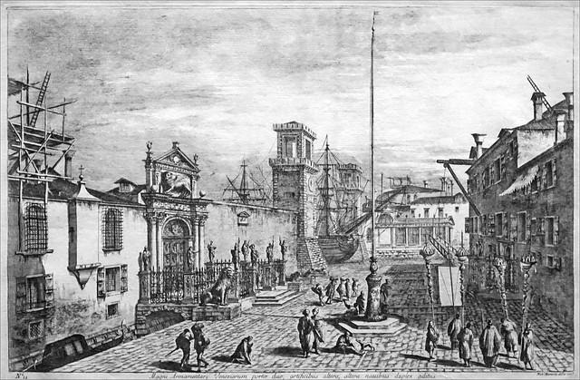 La grande porte de l'Arsenal de Venise (Grand Palais, Paris)