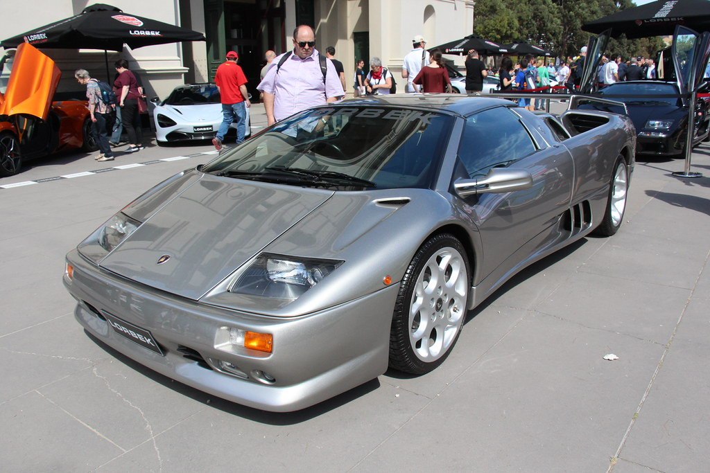1999 Lamborghini Diablo Sv Founded In 1963 Lamborghini Bu Flickr