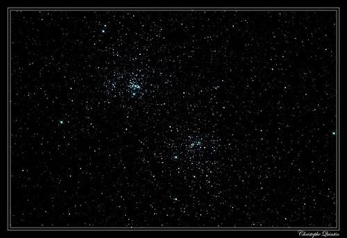 Double amas de Persée - NGC 884/NGC 869