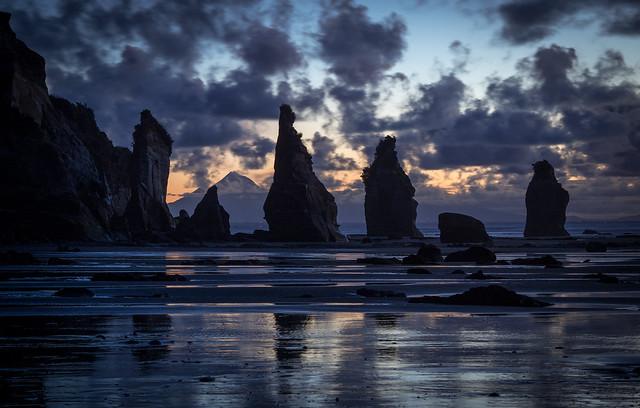Rock dusk