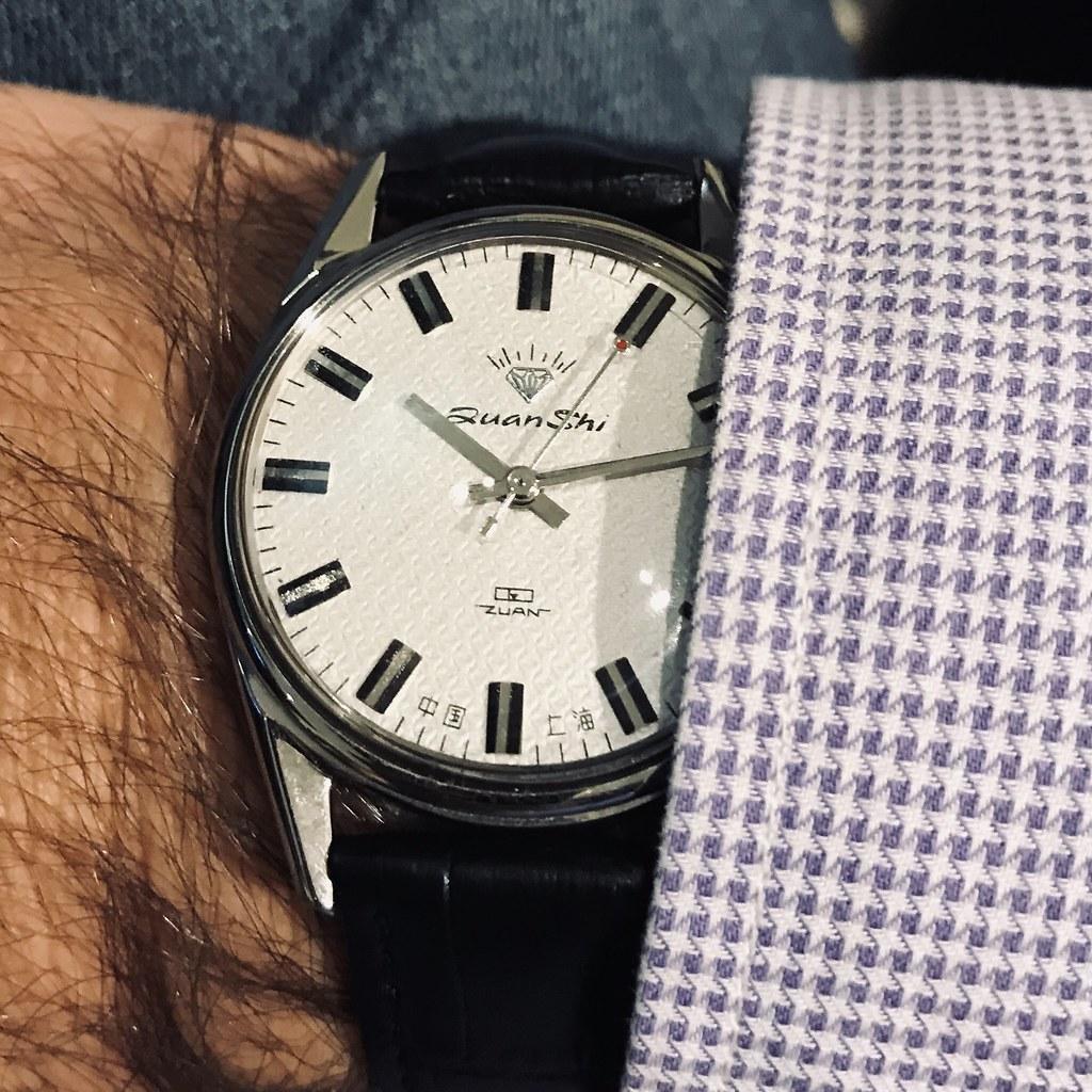 Shanghai Diamond mechanical watch