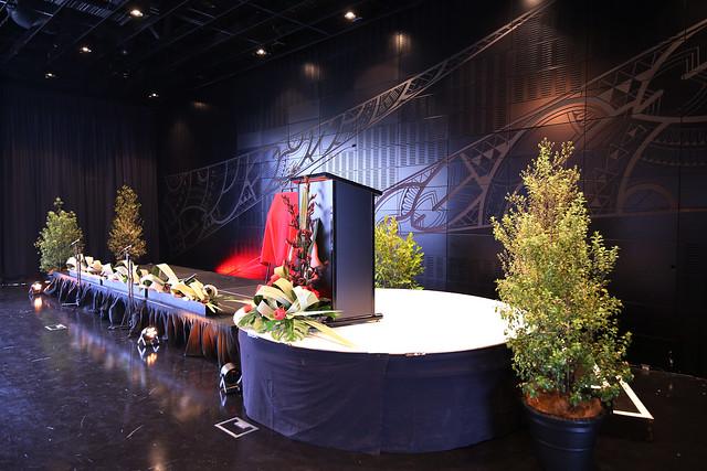 Stage and podium, TSB Space / Tautoru