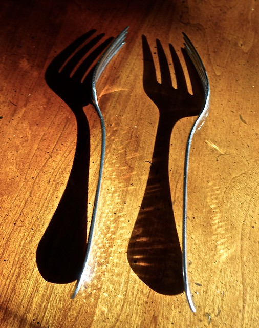 Two Forks and Their Shadows
