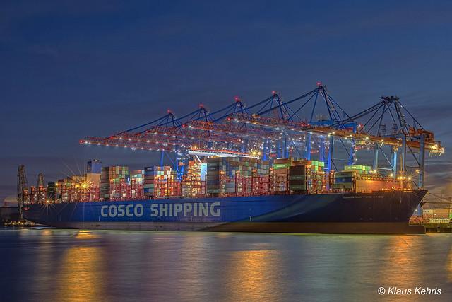 COSCO Shipping Aries - 23011802