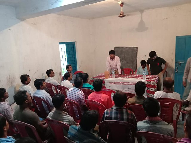 Meets for scampi culture and it's marketing strategies at Madhukhali Canning I of Sunderban