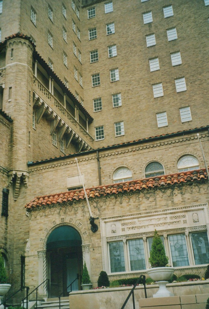 Dayton Ohio - Landing Apartments  - AKA - YMCA - Architecture Moorish