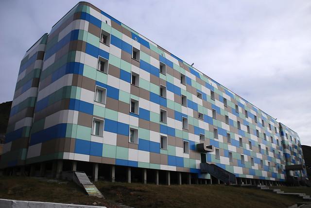 Barentsburg flats