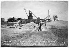 Core wall excavation at White Rock Res Jul 5 1910 Portal to Texas History