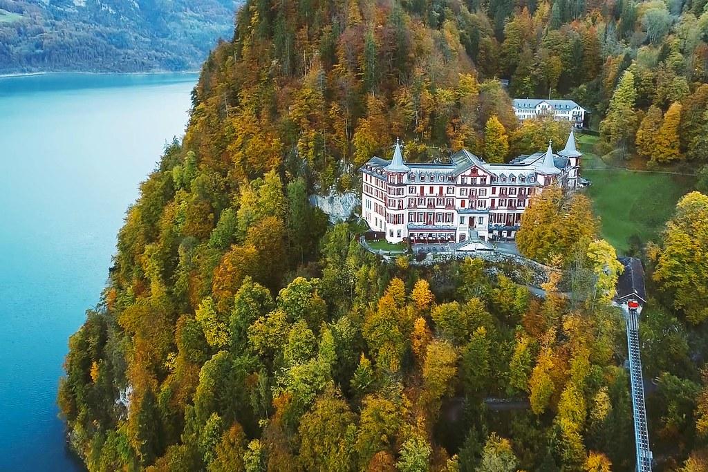 Grandhotel Giessbach Switzerland See More Of Hotel Photog Flickr