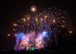 Dumfries House Fireworks 2018