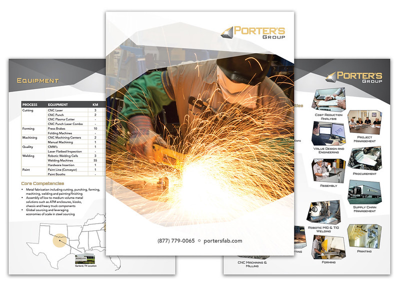 Porter's Group Brochure Inserts