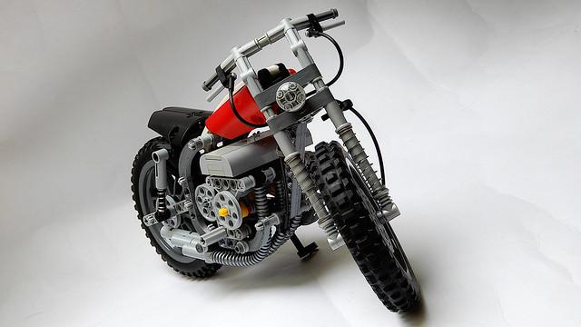 Lego Technic Scrambler (Updated MOC - 4K)