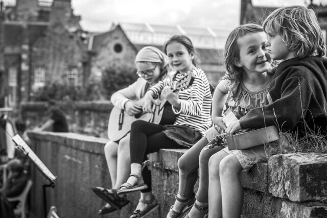 Young Buskers