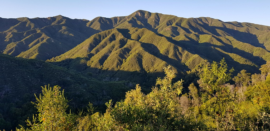 Santa Lucia mountains | in Monterey County, close to the Cal