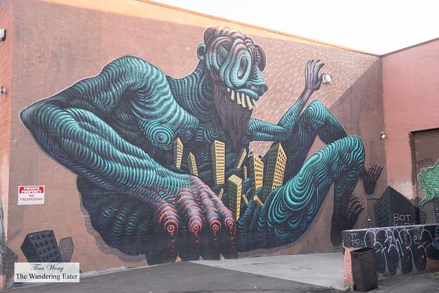 Street art near Apothéke LA