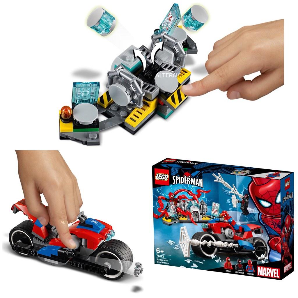 Spider-Man Bike Rescue LEGO Brand New LEGO-76113