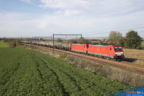 186 340+186 330 DB Cargo . E 47061 . Warsage . 06.11.18.