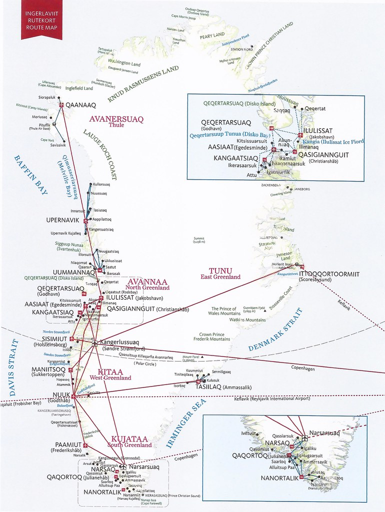 GLmap2014   Air Greenland route map - 2014   mpar21   Flickr on