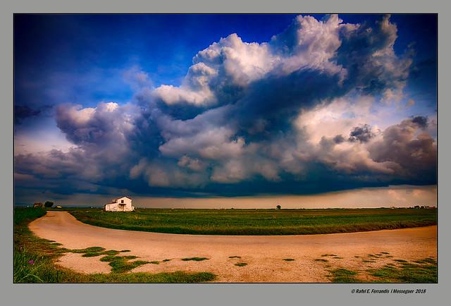 Núvols a la marjal de Sueca  32 (Cloudy Sueca's marsh 32) Sueca, la Ribera Baixa, València, Spain