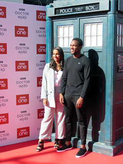 Mandip Gill & Tosin Cole, Doctor Who Series 11 World Premiere - Sheffield, September 2018