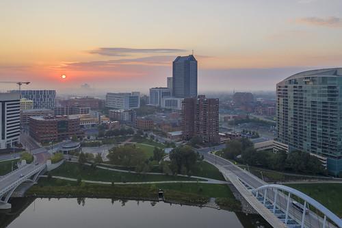 sunrise magicpro2 architecture drone columbus ohio ohiofoothills scioto
