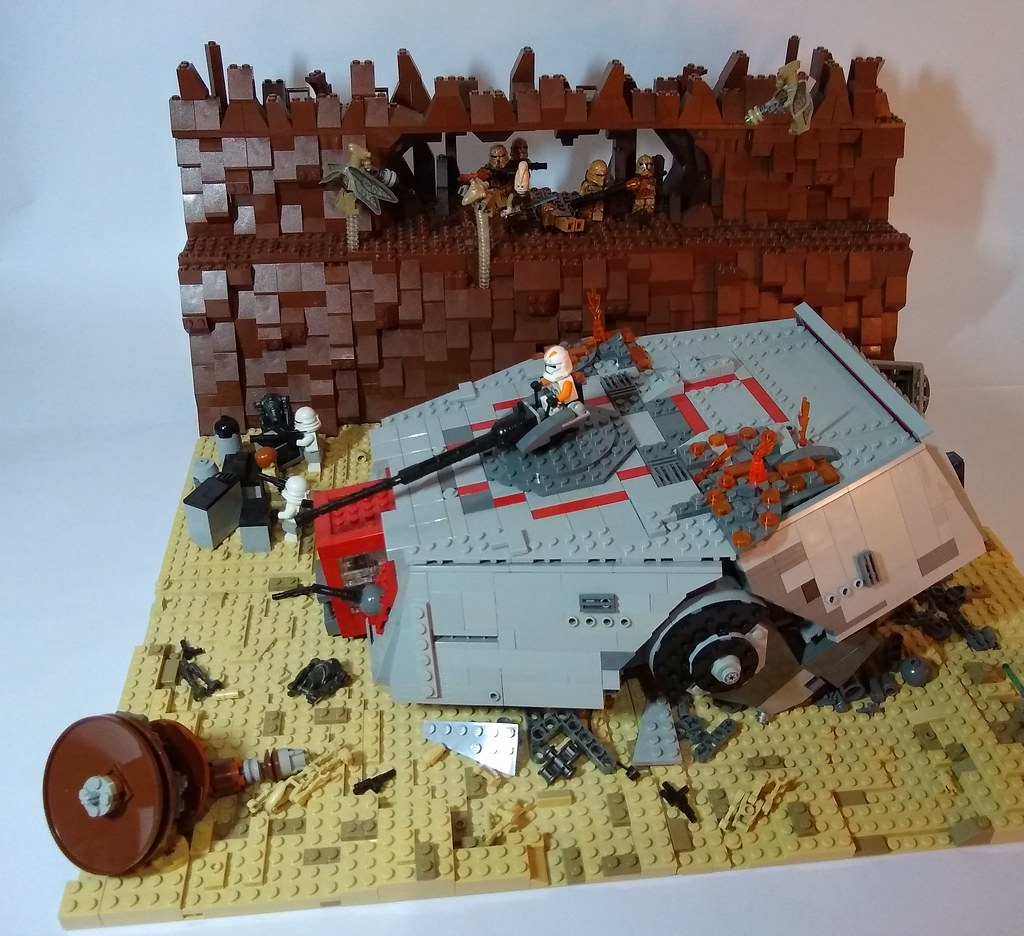 Lego Star Wars Moc Second Battle Of Geonosis Hey Guys Wi Flickr