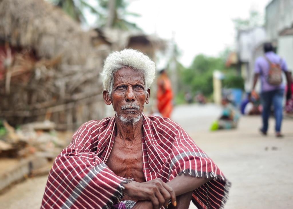 indian old man