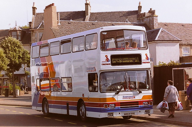 STAGECOACH A1 SERVICE 930 N864VHH