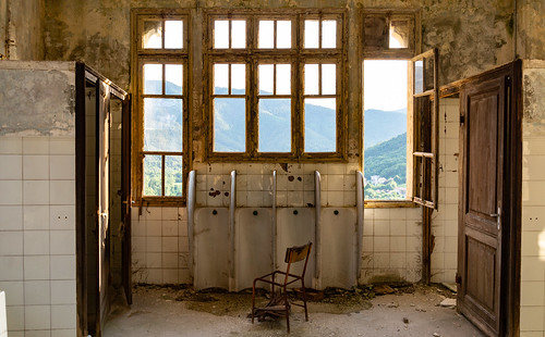 Toilet With A View | by Broken Window Theory
