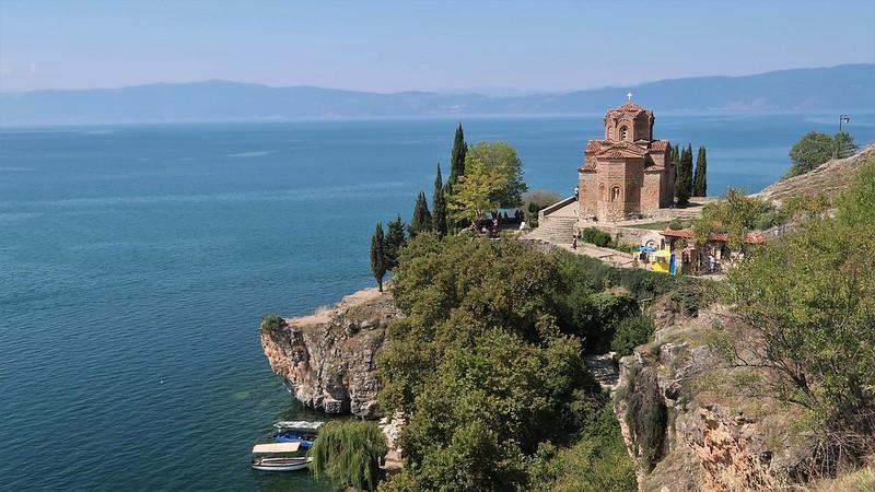 Ohrid, NORTH MACEDONIA, August 2018