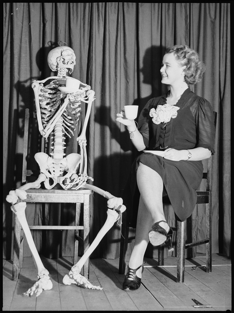 Skeleton series, 1938, Ray Olson