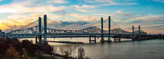2nd Street Bridge, Panoramic dec 9th