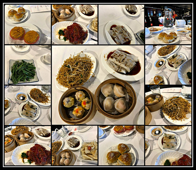 2018 Sydney: October Yum Cha collage