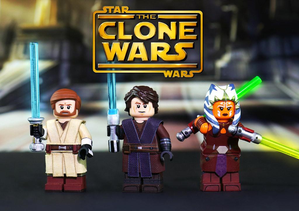 Anakin Skywalker Custom Minifigure Star Wars Minifigures LEGO Compatible