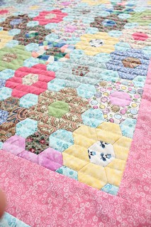 Grandmother's Flower Garden Quilt   by smithsoccasional
