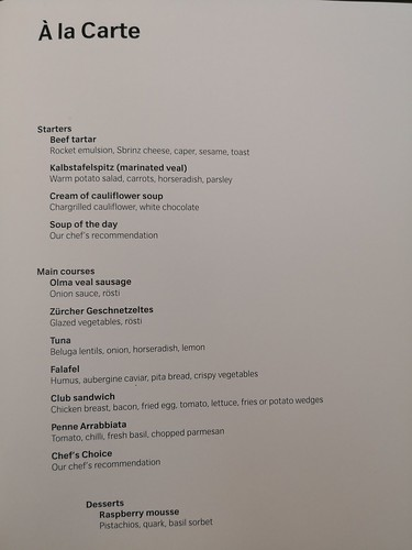 A la carte menu | by A. Wee
