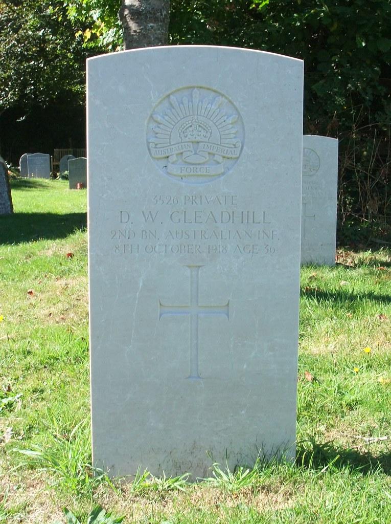 Private Daniel William Gleadhill