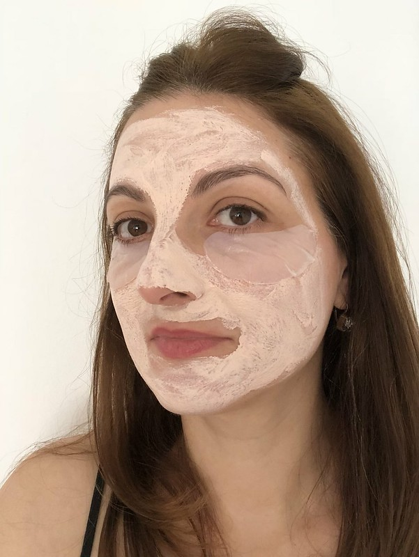 Skincare over 40: clay self facial and eye mask