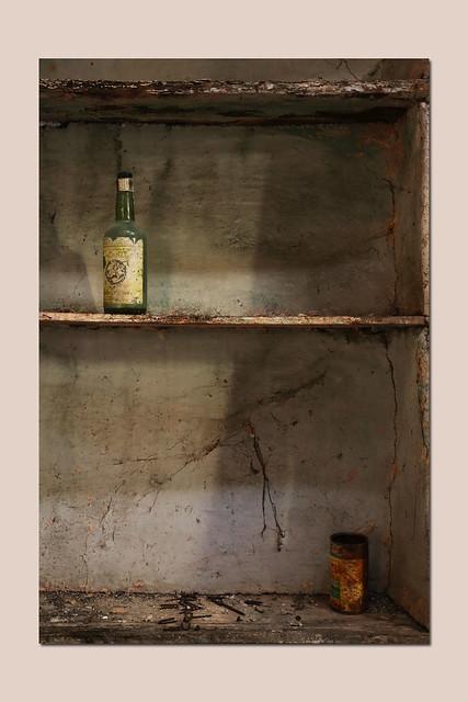bottle  and jar