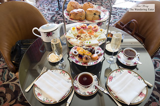 Our Wedgewood afternoon tea spread | by thewanderingeater
